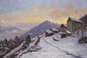 Pavesi_ugo_La Val d'Ossola da Alpe Sogno 80x120 PU42